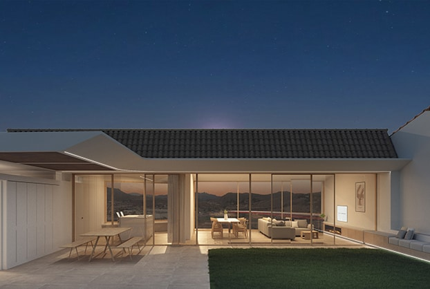 Imagen exterior de la propuesta de vivienda unifamiliar Petrer
